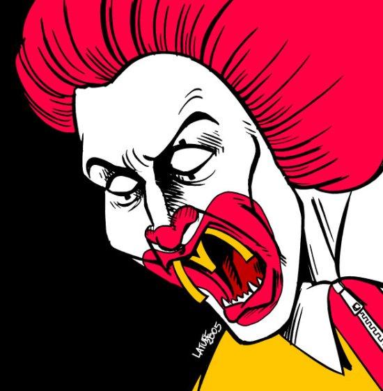 Ronald McDonalds by ~Latuff2